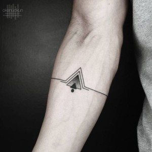 The Best Triangle Tattoos For Men Ideas Modern