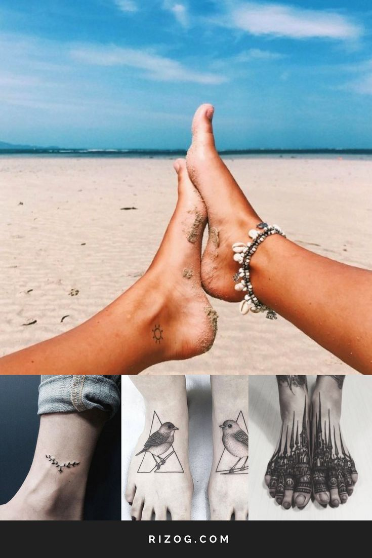 Small Beautiful Tattoos For Women On The Foot