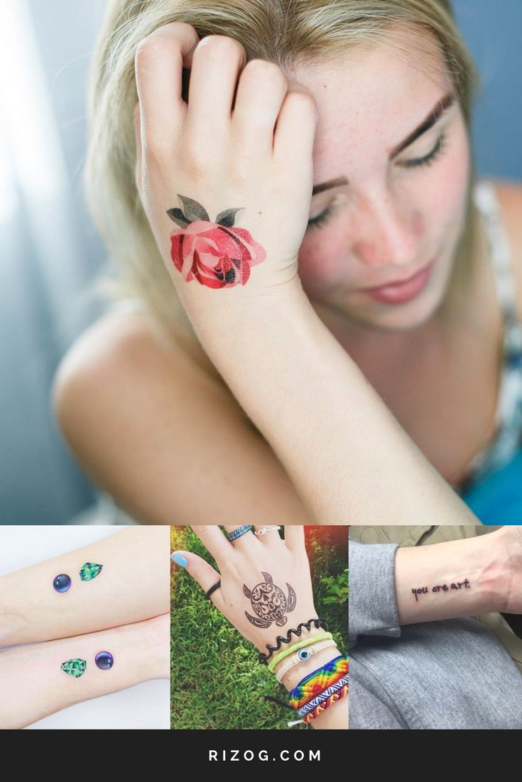 Small beautiful tattoo designs for girls on the wrist