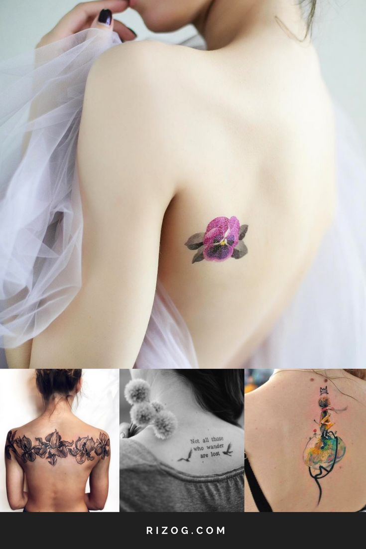 Beautiful Tattoos designs For girls On The Back