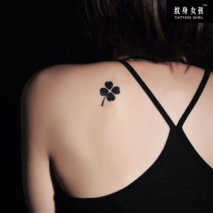 Four-leaf-clover-tattoo Clover Tattoo Small Tattoos For Women