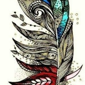 Tattoo Feather Ideas Designs For Girls