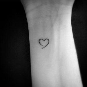 tattoos for delicate women Heart